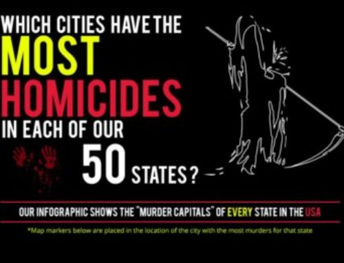 Murder Capitals in each State in the USA