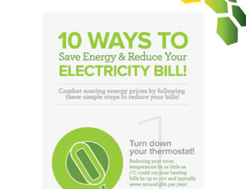 Save Energy to Reduce Your Electricity Bill